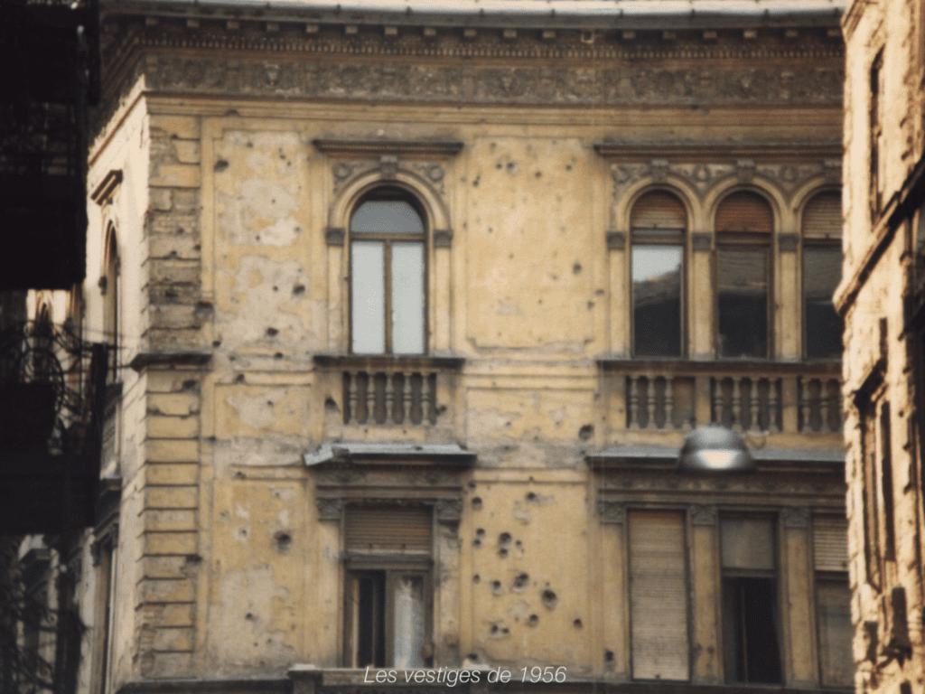 Les vestiges de l'invasion russe de 1956