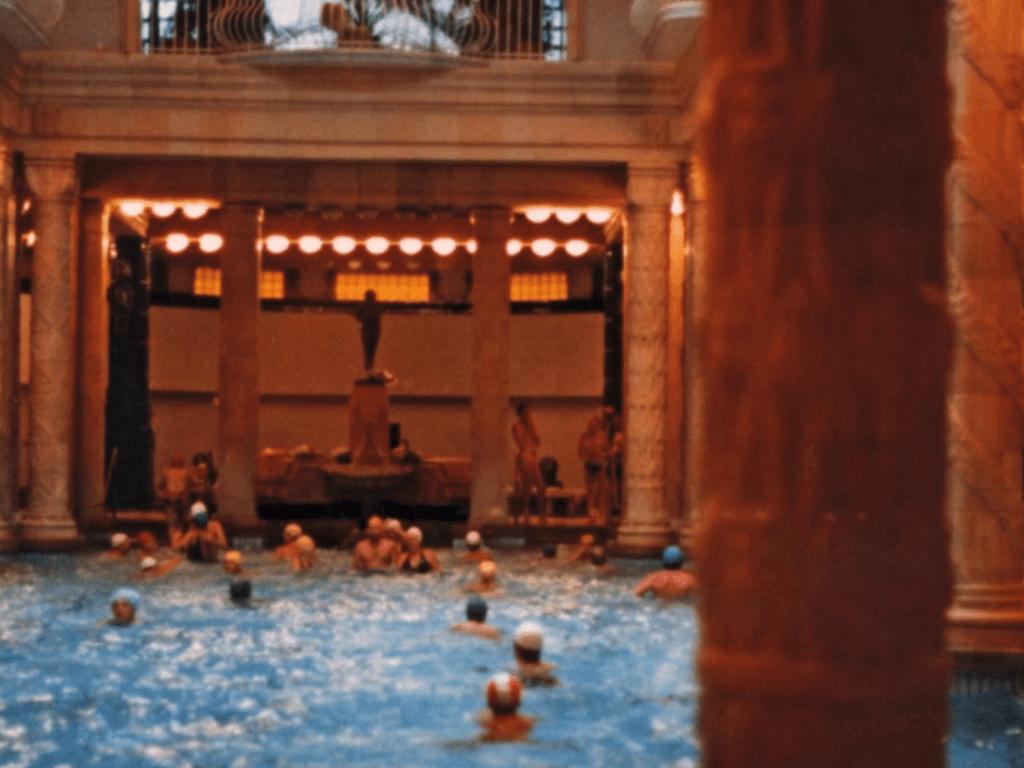 La piscine de l'Hôtel Gellert, Buda