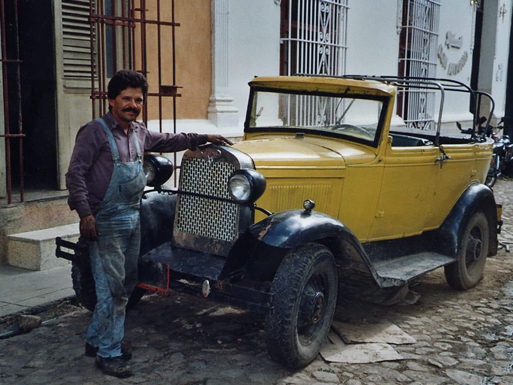 Ford 1929 à Trinidad, Cuba