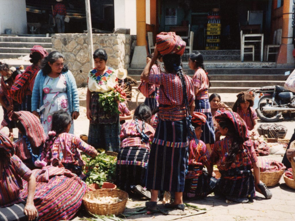 Marché à Solola, Guatemala