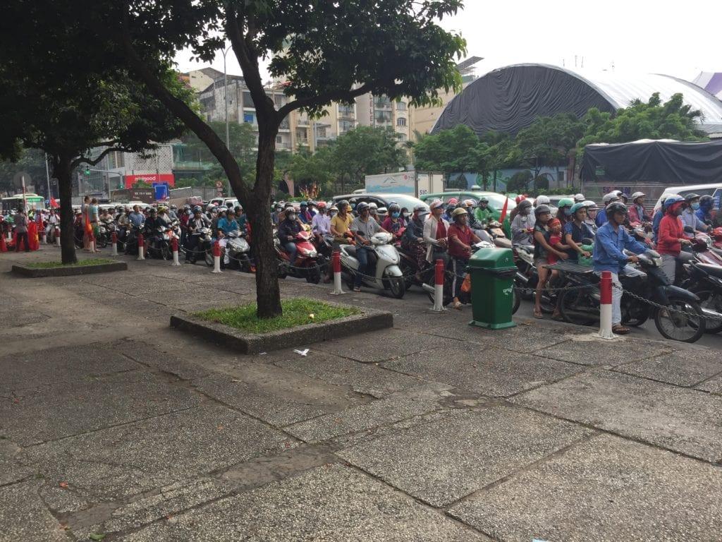Saigon, la frénésie motocycliste