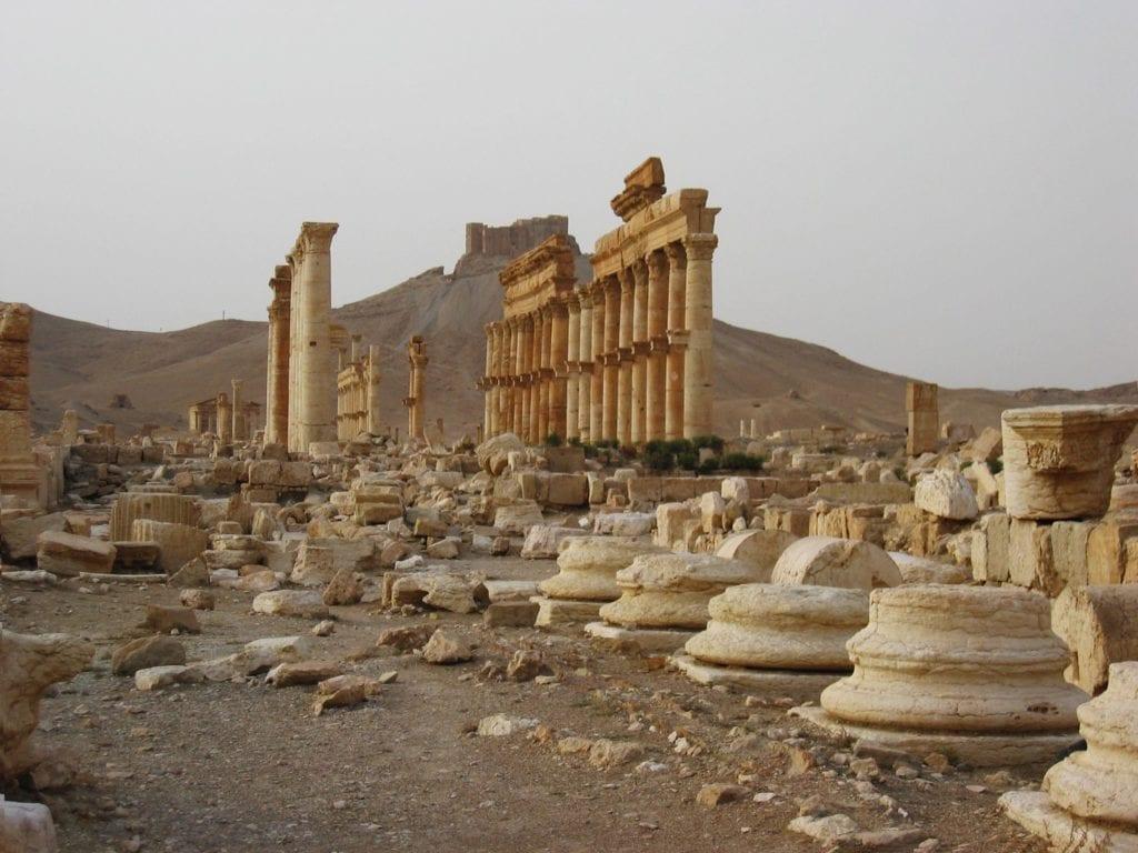 PALMYRE ,la grande colonnade