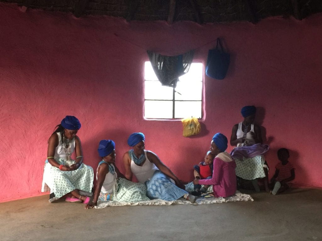 Village Xhosa,Transkei