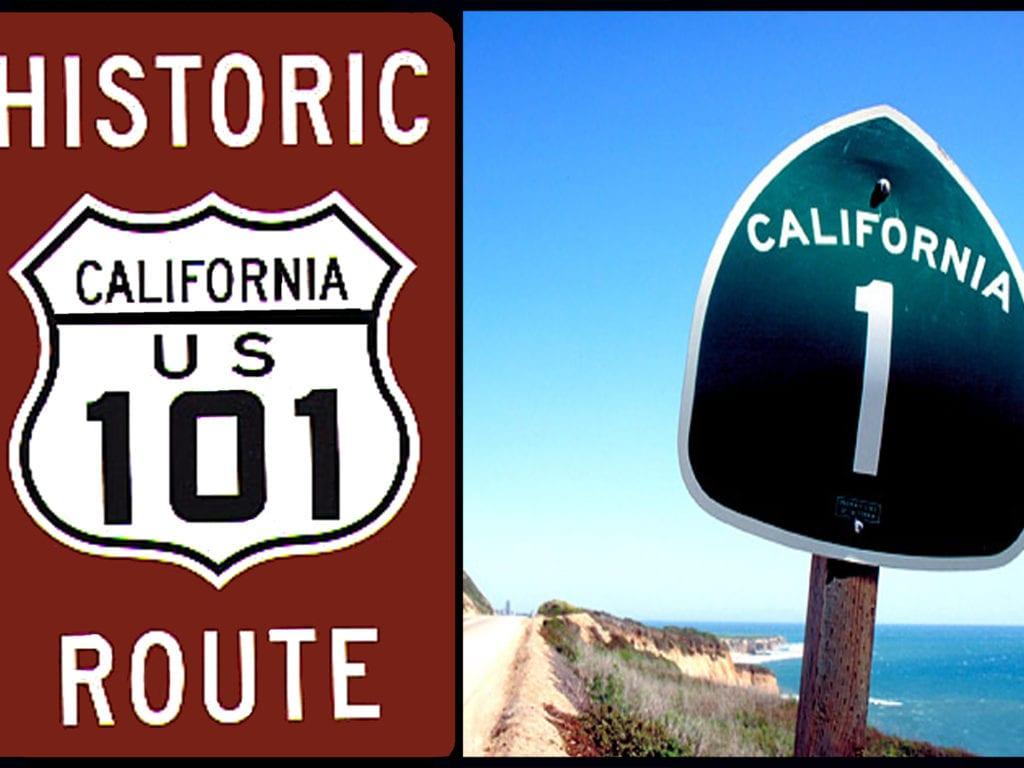 US 1 & 101,  le long de la West Coast