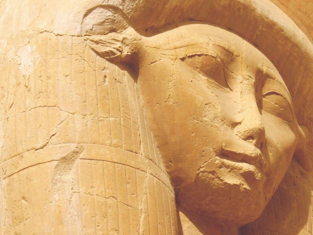 Louxor, la déesse Hathor